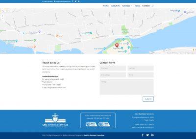 Cro Maritime Services Contact