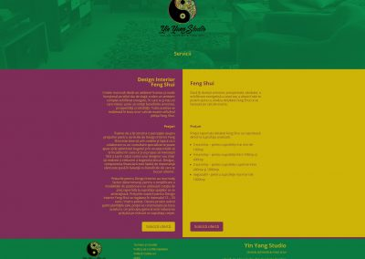 Yin Yang Studio Servicii