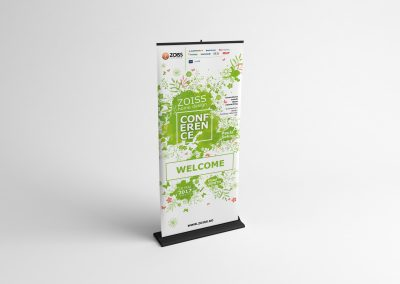 ZOISS home design Roll-up Conferinta